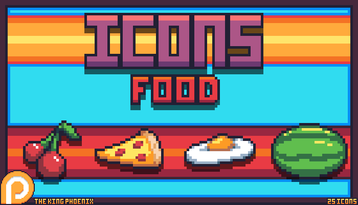 Icons: Food.