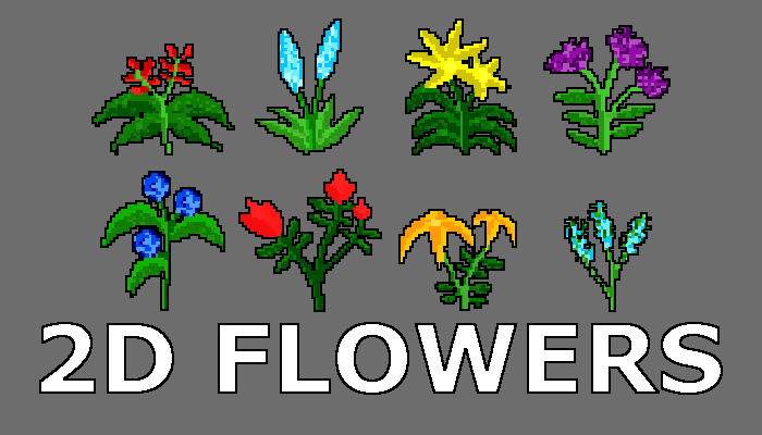 2D Flowers