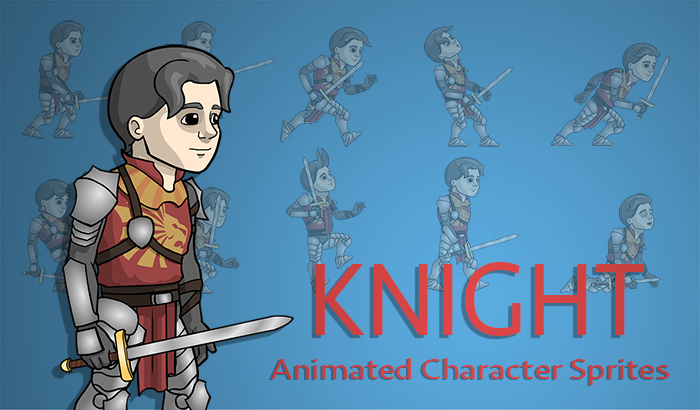 Knight Character Sprites