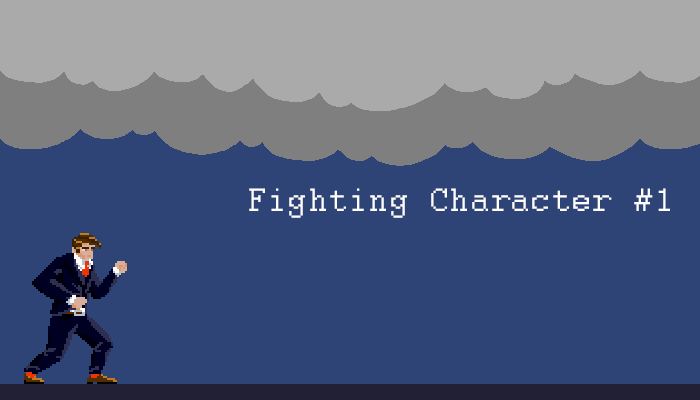 Pixel Fighting Character 1