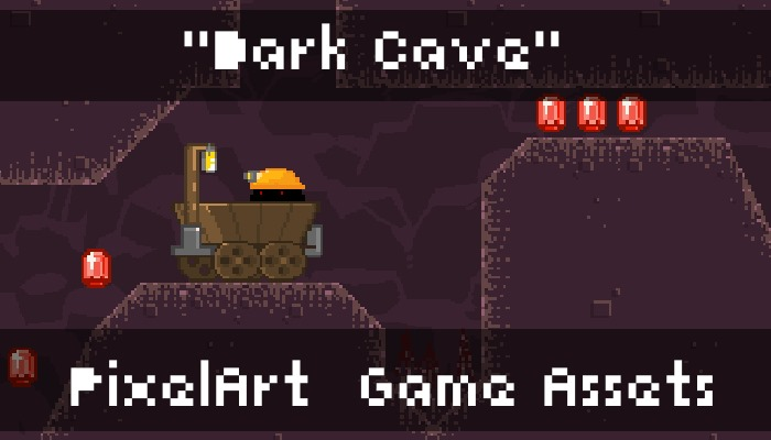 DarkCave – PixelArt Game Assets