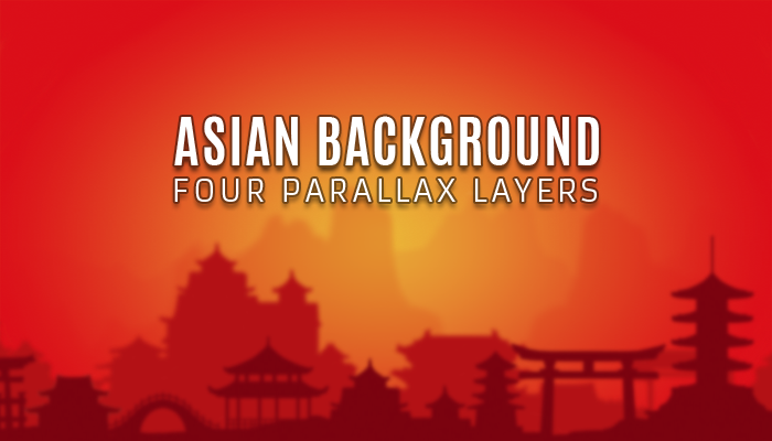 Asian Parallax Background