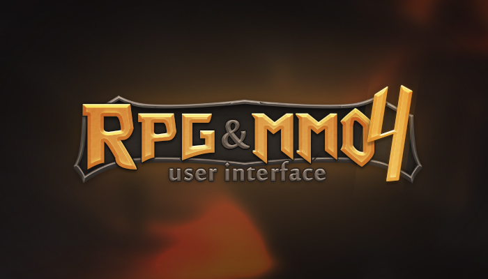 RPG and MMO UI 4