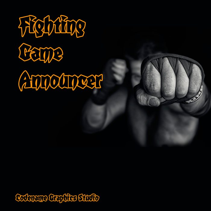 Announcer voice for fightings