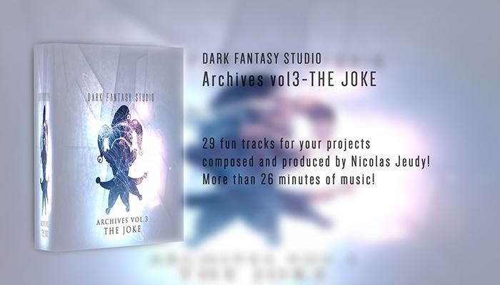 Dark Fantasy Studio- Archives vol.3 The joke (arcade music)