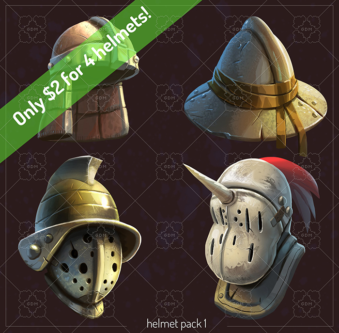 RPG Helmets Pack Vol. 1