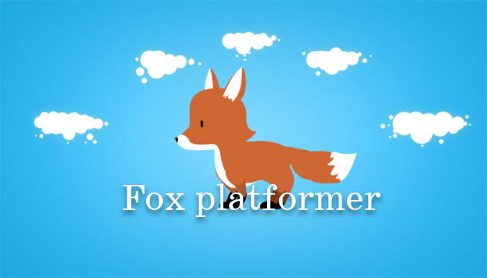 Fox. Platformer(sale -60%)