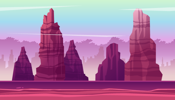 Mountain Game Background