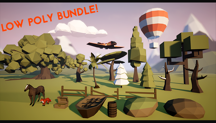 Low Poly Asset Bundle