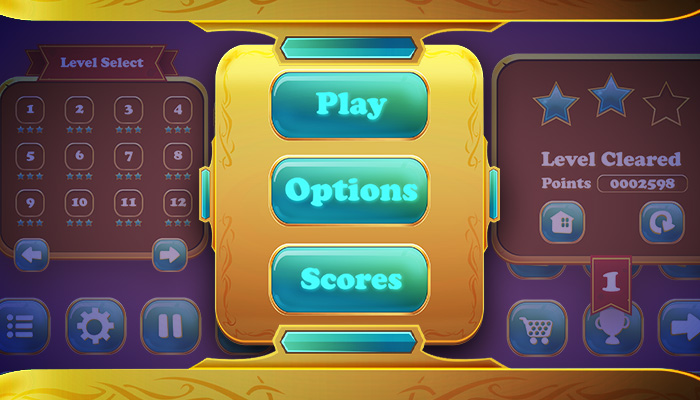 Golden User Interface