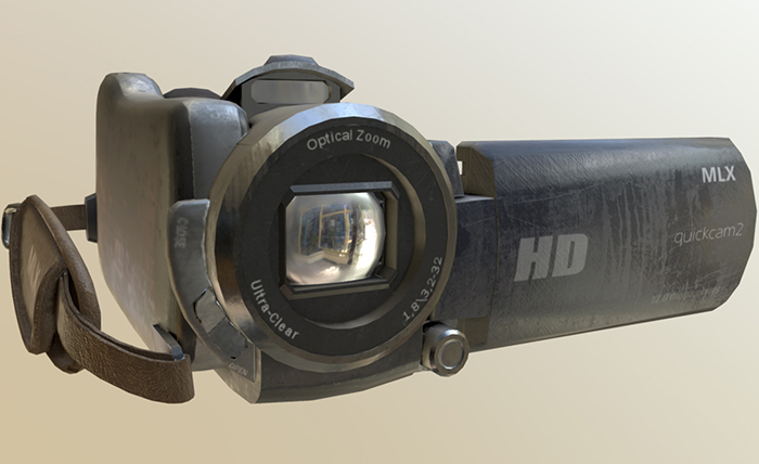 Digital Video Camera PBR
