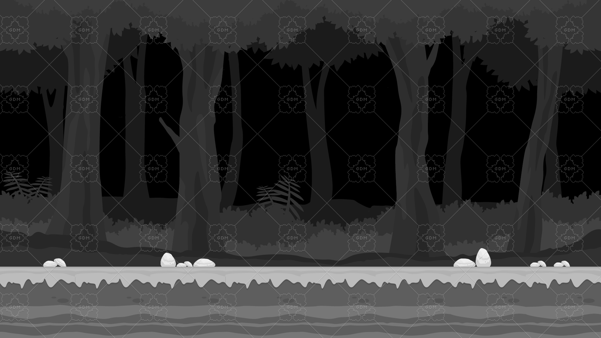 2d Dark Forest Cartoony Parallax Nature Background Gamedev Market 9,000+ vectors, stock photos & psd files. 2d dark forest cartoony parallax nature background