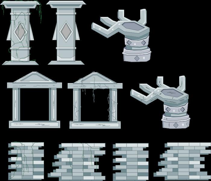 2D Ruins