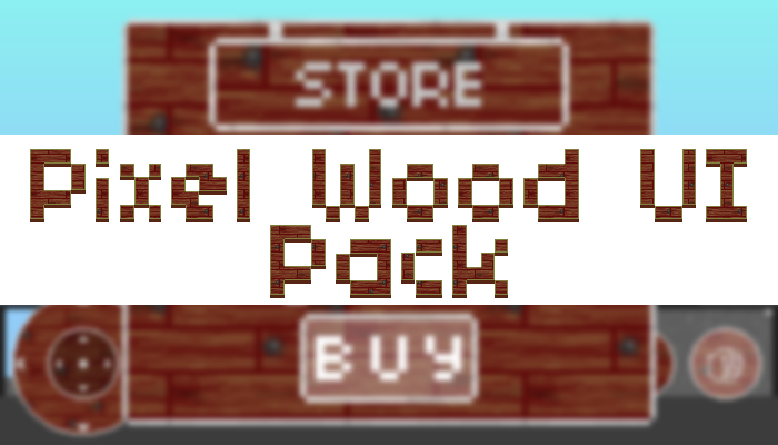 Pixel Wood UI Pack