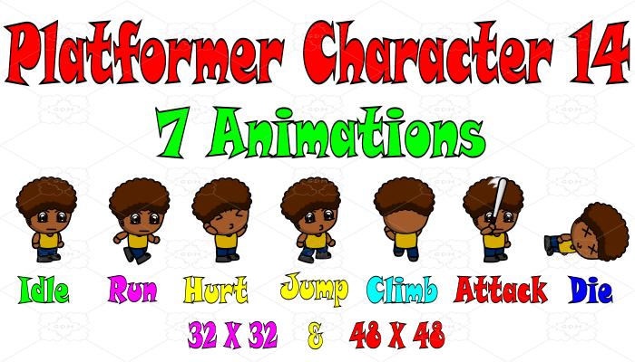 Platformer Character 14
