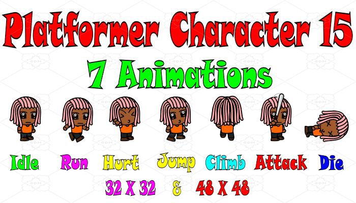Platformer Character 15