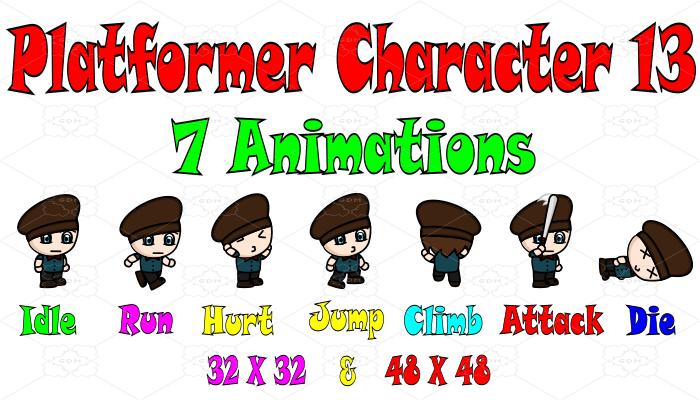 Platformer Character 13