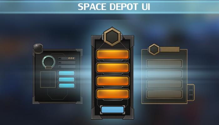 Space Depot UI