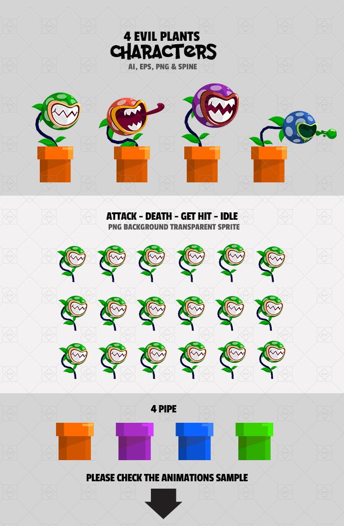 4 Evil Plants