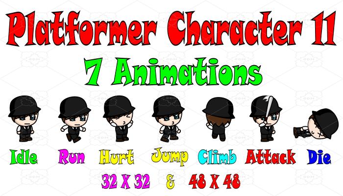 Platformer Character 11