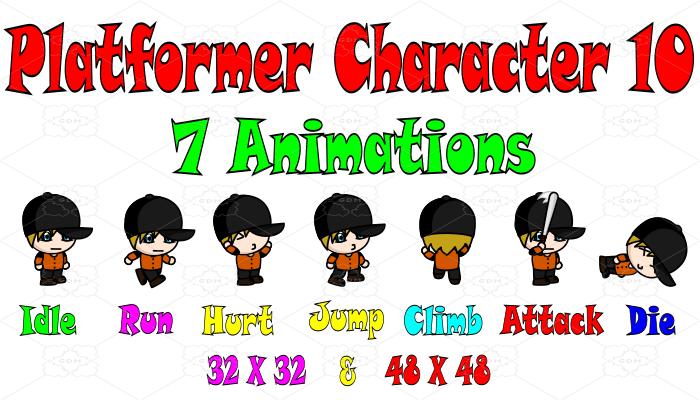 Platformer Character 10