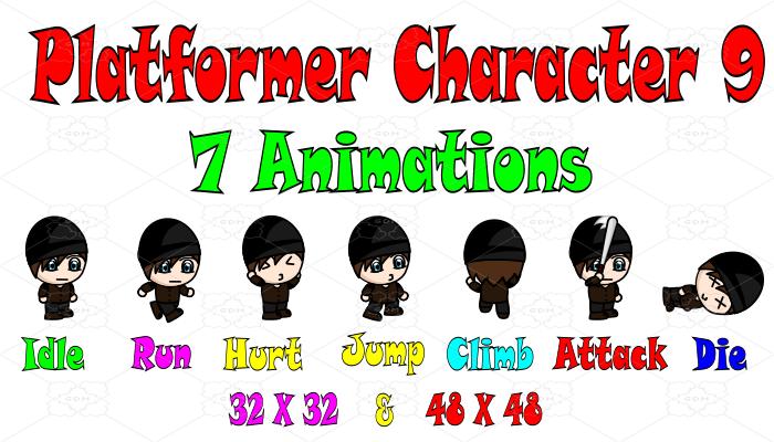 Platformer Character 9