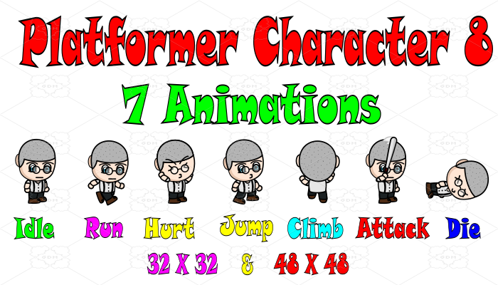 Platformer Character 8