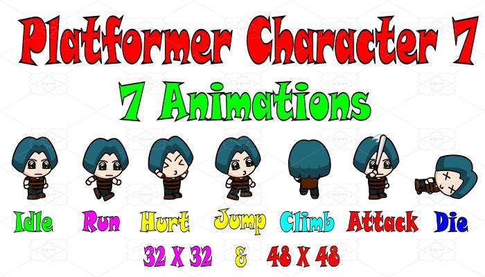 Platformer Character 7