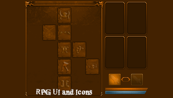 RPG UI and Icons