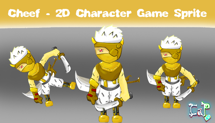Cheef – 2D Character Game Sprite