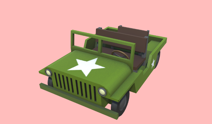 Low-Poly Jeep