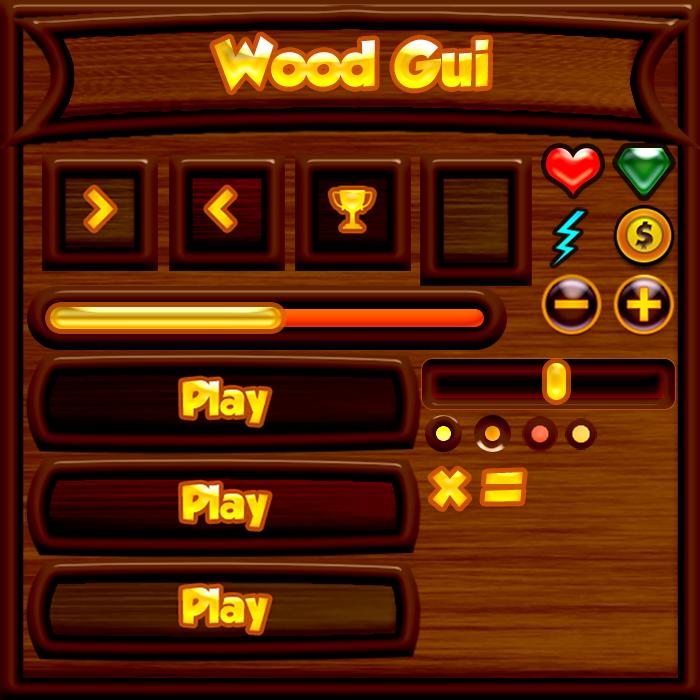 Wood Style Gui 1