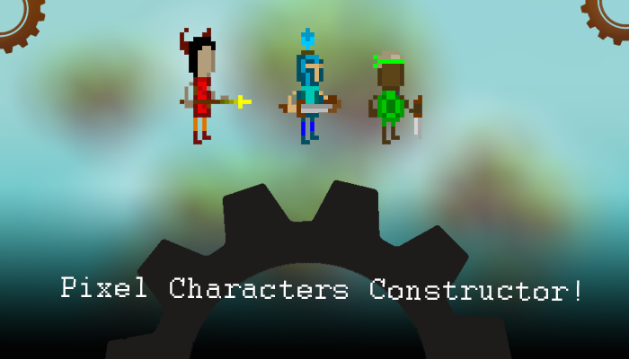 Pixel Characters Constructor