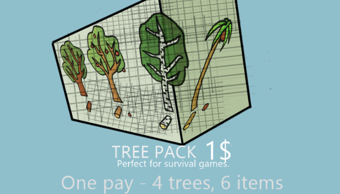HAND PAINT TREE PACK