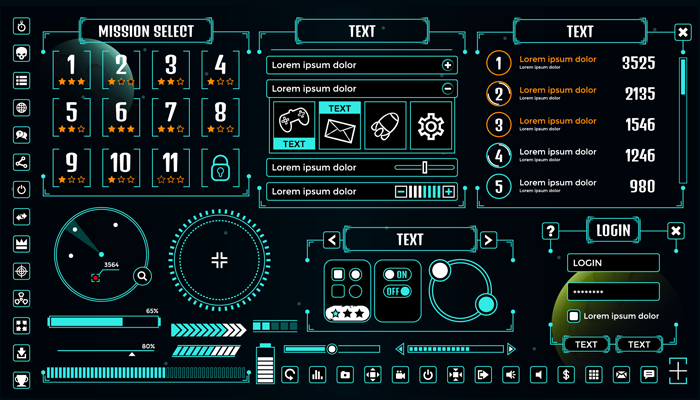 Vector Game UI