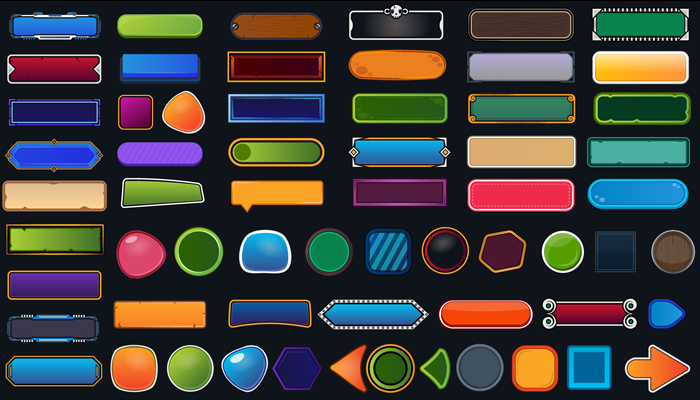 Game User Interface – buttons