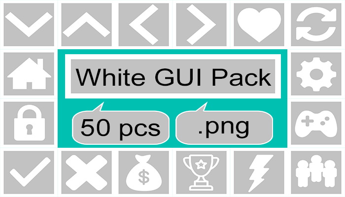White GUI pack