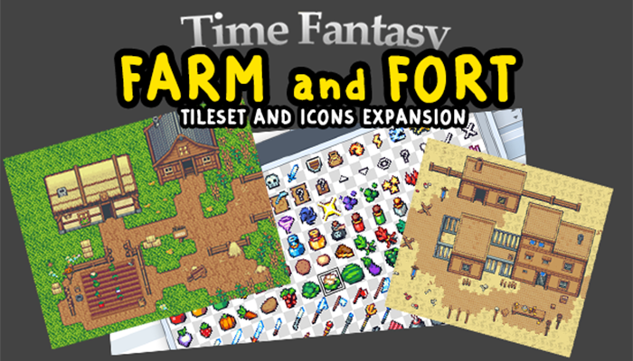 Farm and Fort RPG Asset Pack