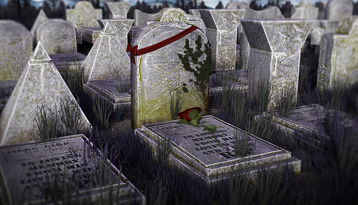 Graveyard Props Package I Optimized I