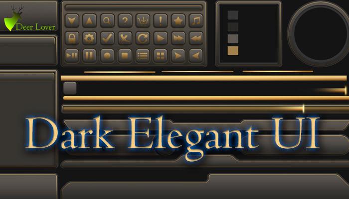 Dark Elegant UI
