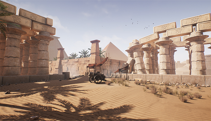Ancient Egypt UE4 4.16 props pack