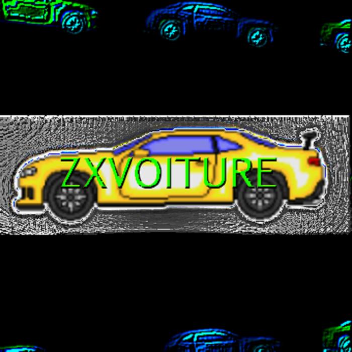 Camaro Z28 – Multi-Color Pixel Muscle Car