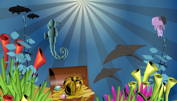 Sea Game Wallpaper