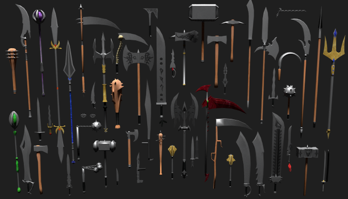 Mega Melee Weapons Pack