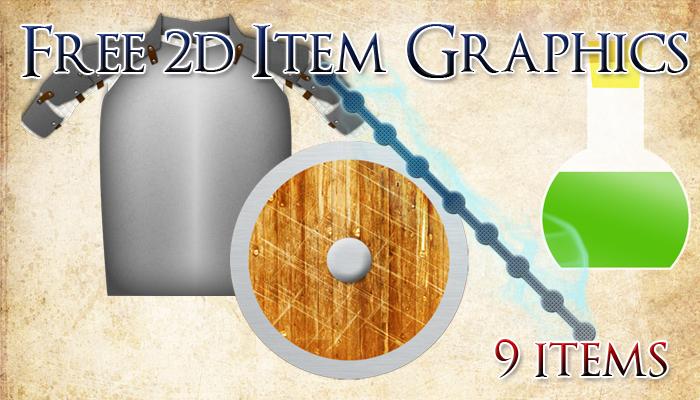 Free 2D Item Graphics
