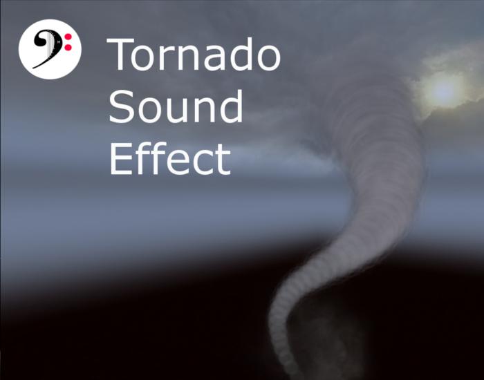 Tornado, heavy storm.