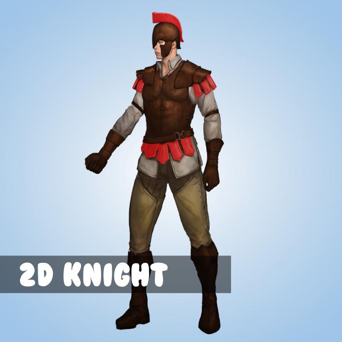 2D Knight unit