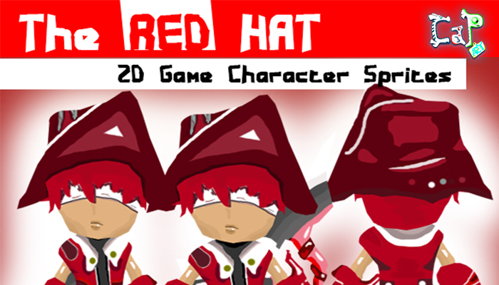 RED HAT – 2D Character Game Sprites