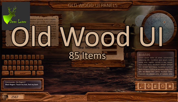 Old Wood UI