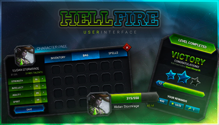 Hellfire GUI – THE CURSED INTERFACE